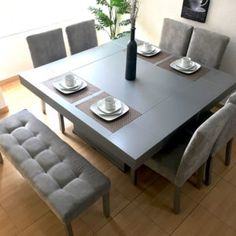Dinning Set, Dining Room Design, Dining Room Table, Home Remodeling, Home Renovation, Beautiful Houses Interior, Coffee Table Design, Fancy Houses, Home Decor Kitchen