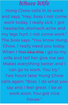 Employee was unable to Come to office so he called His Boss