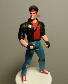 Custom action figures by Stolf - Kung Fury