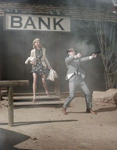 "The Look: ""Bonnie & Clyde"" - Harper's Bazaar editorial"