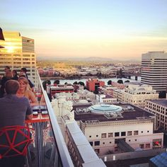 Perched atop the Nines hotel, Departure (15th floor) is situated right in the middle of downtown Portland. Both rooftop patios boast views of Pioneer square and Southwest Portland, while the restaurant windows look towards the Willamette river.