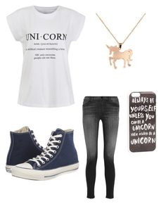 """""""Untitled #109"""" by alisha-dovey on Polyvore featuring Ally Fashion, J Brand, Converse, Louche and JFR"""