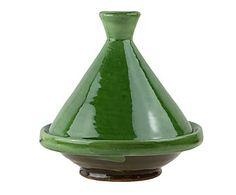 Tajín de cerámica, verde - Ø17 cm