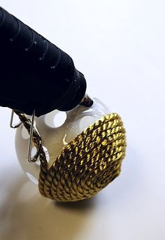 Home Decor Balls Diy  Decorative Thumb Tack Styrofoam Ball Stepbystep Tutorial