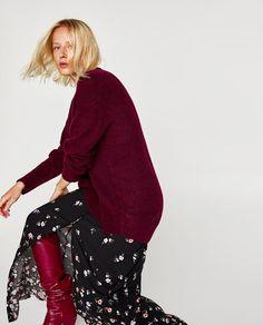 Jersey Oversize, Midi Skirt, Sequin Skirt, Best Sellers, Knitwear, Leather Skirt, High Waisted Skirt, Zara, Street Style