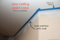 Painters secret! 2 methods for PERFECT lines when cutting in on textured walls.