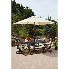 Better Homes And Gardens Paxton Place 7 Piece Outdoor Dining Set, Seats 6  $748