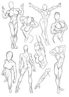 Sketchbook Figure Studies 3 by Bambs79