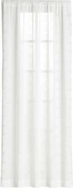 Sheer Curtains 96 sheer curtains : Exclusive Fabrics Lattice White Embroidered Organza 96-inch Sheer ...