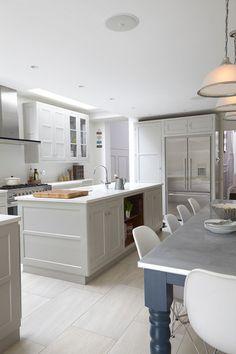 Transitional Kitchen by Blakes London - this is exactly the style I'm after except charcoal cabinets