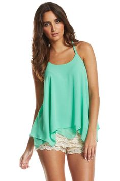 #turquoise #tank #flowy
