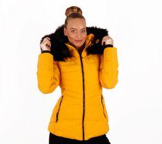 56# (Sárga) Szőrmés pufikabát | viyou.hu Winter Jackets, Pink, Fashion, Moda, Winter Vest Outfits, La Mode, Fasion, Pink Hair, Fashion Models