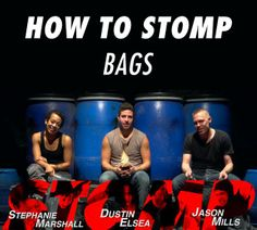 In this video, members of STOMP show you how to make rhythm using bags. #LetsMakeRhythm