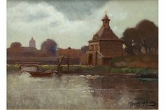 Mijndert van den Berg (1876-1967) - Dalempoort te Gorinchem