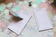 Adventure awaits travel theme DIY wedding ideas  Salt & Silk Weddings by Rachel Keco | PORTFOLIO