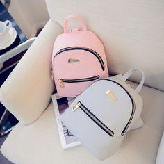 d69a7daab93f Мода женщин кожа Рюкзаки путешествия рюкзак сумки школы мешок высокое  качество – купить по низким ценам в интернет-магазине Joom