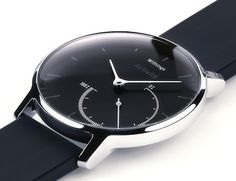 Automatically track your lifestyle and activities with the Activité Steel #Smartwatch by Withings