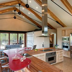 trusses with metal tension rods - Google Search