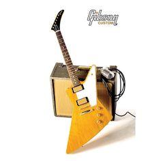 The Gibson 1958 Korina Explorer Reissue