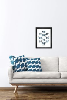 Items similar to Butterfly Art Print. on Etsy Butterfly Art, Butterflies, Love Seat, Couch, Art Prints, Wall Art, Cool Stuff, The Originals, Trending Outfits