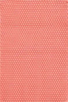 Dash And Albert Rope 105552 Coral Area Rug