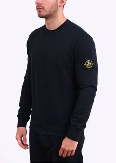 Stone Island Crew Sweater - Navy