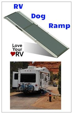 Many other elderly dog owners were impressed and wanted to know where we got it. The Solvit RV Dog ramp made things a lot easier and I'm sure Oscar liked the freedom to go in and out of the RV on his own.   http://www.loveyourrv.com/solvit-rv-dog-ramp #Dog #Pet #Ramp