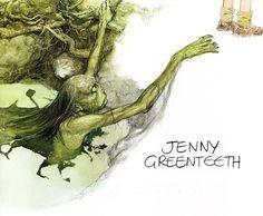 alan lee_faeries_jenny greenteeth.jpg (1600×1319)