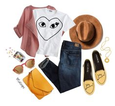 """""""Pack and Go: Mexico City"""" by maloops ❤ liked on Polyvore featuring Loly in the Sky, WithChic, American Eagle Outfitters, J.Crew, WOOED, Lara Bohinc, StreetStyle, real, mexico and Packandgo"""