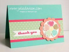 Julie's Stamping Spot -- Stampin' Up! Project Ideas by Julie Davison: Floating Pop Up Card with Flower Shop Bundle