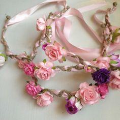 Floral Head Wreaths
