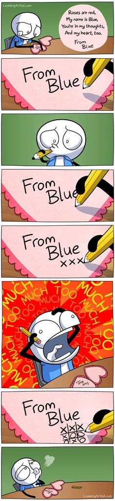 From Blue