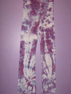 Tie Dye Yoga Pants by purplesunflowerdyes on Etsy, $28.00