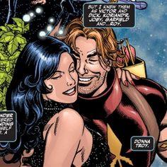 Dc Couples, Superman, Batman, Comic Art, Comic Books, Roy Harper, Red Arrow, Jim Lee, Young Justice