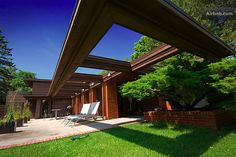 Frank Lloyd Wright Schwartz House, Wisconsin