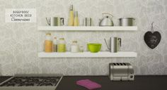 Mio-Sims: Buggybooz kitchen deco conversions • Sims 4 Downloads