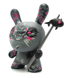 Dunny 8'' Shadow Friend par angry woebots