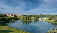 Blenheim Palace and Park, Oxfordshire.