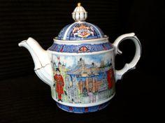 Sadler Thameside English Teapot Beautiful via Etsy