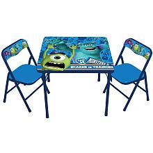 Monsters University Classic Activity Table and Chair Set $30