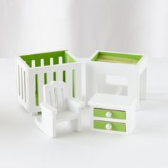 We've not only brought the country charm of a quaint cottage into your home, we've even scaled it down to fit in your playroom.  Our exclusive Cottage Dollhouse has five coordinating furniture collections that can be picked up separately or as a complete set.  However you set yours up, it's sure to bring the house (or cottage) down.