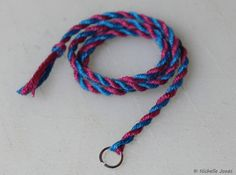 How to make breyer lead ropes!
