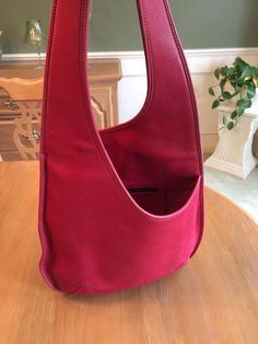 Coach RARE Vintage Bonnie Cashin Pink Body Bag 1960 s re Make 9074 ...  Vintage dcd71f1b7c