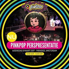 We're at the Pinkpop Press Presentation with Hello Geeky World's @patricia_mcurl. The line-up for 2017's Pinkpop will be revealed and later today we'll let you know all of the performers' geeky little secrets. Follow and stay tuned.  #pinkpop #pinkpop2017 #pp2017 #pinkpopfestival #pinkpopperspresentatie #pers #press #presspresentation #musicfestival #festival #landgraaf #paradiso #amsterdam #limburg