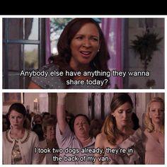Haha I love Bridesmaid's.
