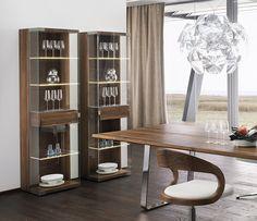 Luxury Glass Furniture | Luxury Glass Display Cabinets   Team7 Nox    Wharfside Furniture