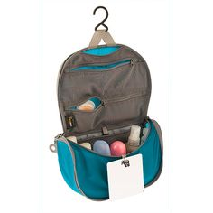 Sea To Summit TravellingLight Hanging Toiletry Bag   Blue/Grey   from $39.95