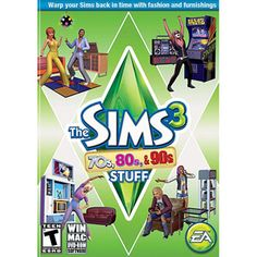 The SIMS 3 70s 80s 90s Stuff (PC)