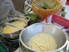 Ingrediënten voor overheerlijke spaghetti