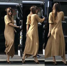 We just received a new delivery of our Dakota dress. It's cashmere knit in the most dreamy camel color. Tap to shop xx dakotajohnson Dakota Johnson Hair, Dakota Johnson Style, Dakota Mayi Johnson, Classy Outfits, Trendy Outfits, Dakota Style, Types Of Fashion Styles, Celebrity Style, Street Style